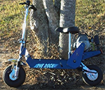 Rock Gas Scooter
